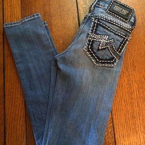 "Miss me size 26 ""sunny skinny"" jeans"